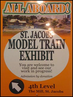 St. Jacobs Model Train Exhibit